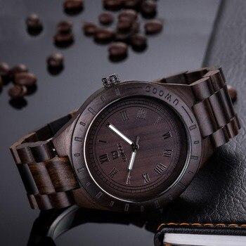 Montres Uniques   2018 Unique Cadeau Montre En Bois Pour Hommes Top Marque De Luxe Léger Décontracté Bois Montre-bracelet Hommes Quartz-montre Relogio Feminino