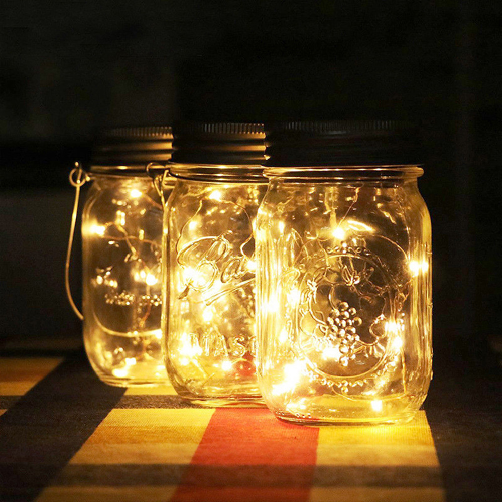 HGhomeart Led Night Light Outdoor Solar Bottle Lights LED Garden Decorative Hanging Lights Children Room Lamps 3d light