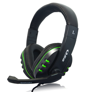 Good Quality on ear Headset Gamer Stereo Deep Bass Gaming Headphones Earphone With Microphone for Computer PC Laptop Notebook(China)