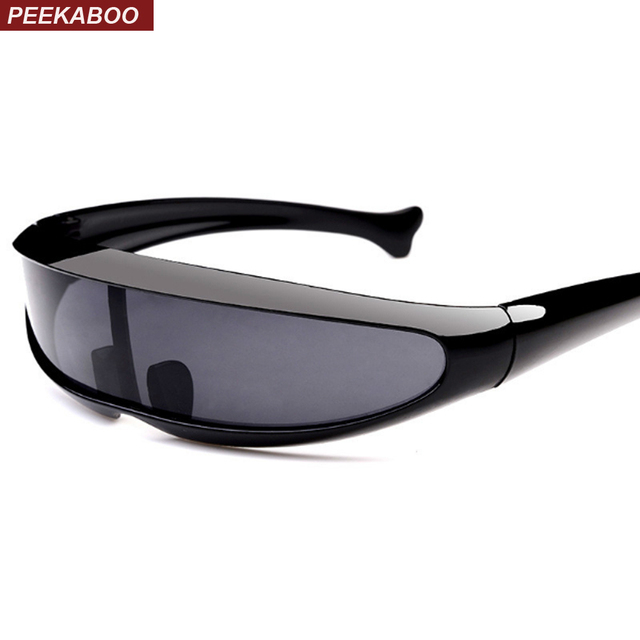 73abc70771e Peekaboo plastic cheap sunglasses one piece lens unisex red white black  vintage women sun glasses for men uv400