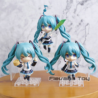 Hatsune Miku V4 Chinese Q Version Nendoroid Dolls PVC Action Figures Collectible Model Toys Gifts 3pcs/set