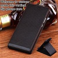 JC09 Genuine Leather Flip Case For Nokia 6 2018 TA 1054 Vertical Phone Cases For Nokia 6 2018 Flip Vertical Back Cover