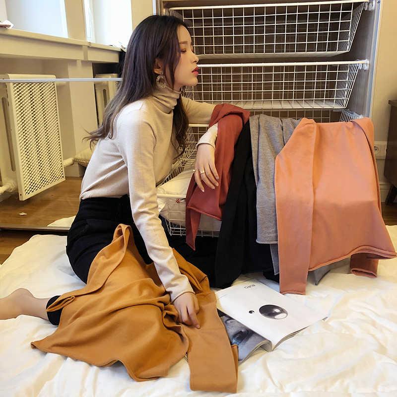 Mishow 2019 แฟชั่นจัมเปอร์ผู้หญิงถักเสื้อกันหนาวหญิงCasualเสื้อแขนยาวฤดูใบไม้ร่วงฤดูหนาวMX18D5534