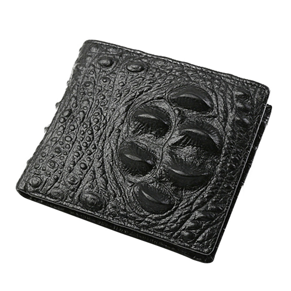 New Fashion Brand Bifold Wallet Men's Leather Crocodile