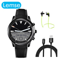 Mtk6580 lem5 smart watch android 5.1 1 gb/8 gb reloj soporte de tarjeta sim de teléfono wifi bluetooth mp3 smartwatch para apple huawei
