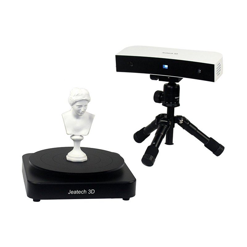 Precision 0.1mm Blue Light scanning range Hight 700mm DIY 3D Scanner kits Desktop-level DIY fast Modeling HD Scanning 3D Scanner structure sensor 3d scanner