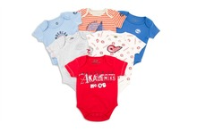 2pcs/lot Random Newborn Baby Romper Jumpsuits Short Sleeve Baby Costumes 100% Cotton Infant Baby Girl and Boy Next Clothing