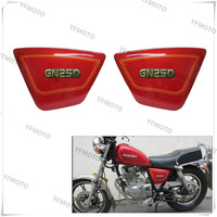 Motorcycle GN250 GN 250 Right Left Frame Side Cover Battery Cover For GN250 GN 250 1982