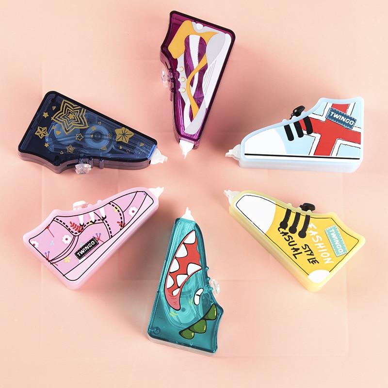 Cute Shoes Shape Correction Tape Kawaii Corrector For School Stationery School Supplies Papeleria Papelaria Material Escolar