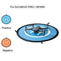 55 CM Đậu Xe Nhanh-fold Hạ Cánh Pad Tạp Dề cho DJI MAVIC PRO SPARK Drone Jun19 Nhà Máy Chuyên Nghiệp Giá Drop Shipping vận chuyển