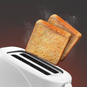 Toaster Home Breakfast Spit Driver  Mini Automatic Toaster Baking Machine 220V 4