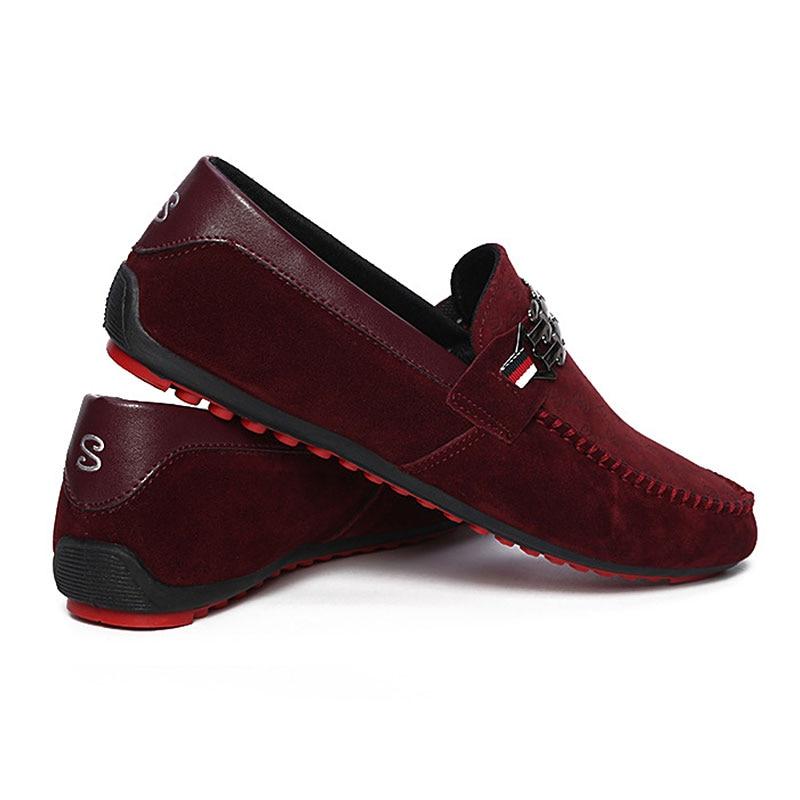 HTB1mlCSXELrK1Rjy1zbq6AenFXad Summer Shoes Men Flats Slip On Male Loafers Driving Moccasins Homme Men Casual Shoes Fashion Dress Wedding Footwear