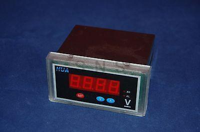 1PC Digital voltage Panel Meter DC 96X48 Voltmeter LED Display 3 1/2 digits