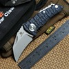 DICORIA Parrot Ball Bearing Folding Knife D2 Blade G10 Steel Handle Hunting Outdoor Camping Survive Pocket