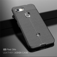 For Cover Pixel 3 lite Case Luxury Soft Silicone Rubber Phone Back Google Fundas