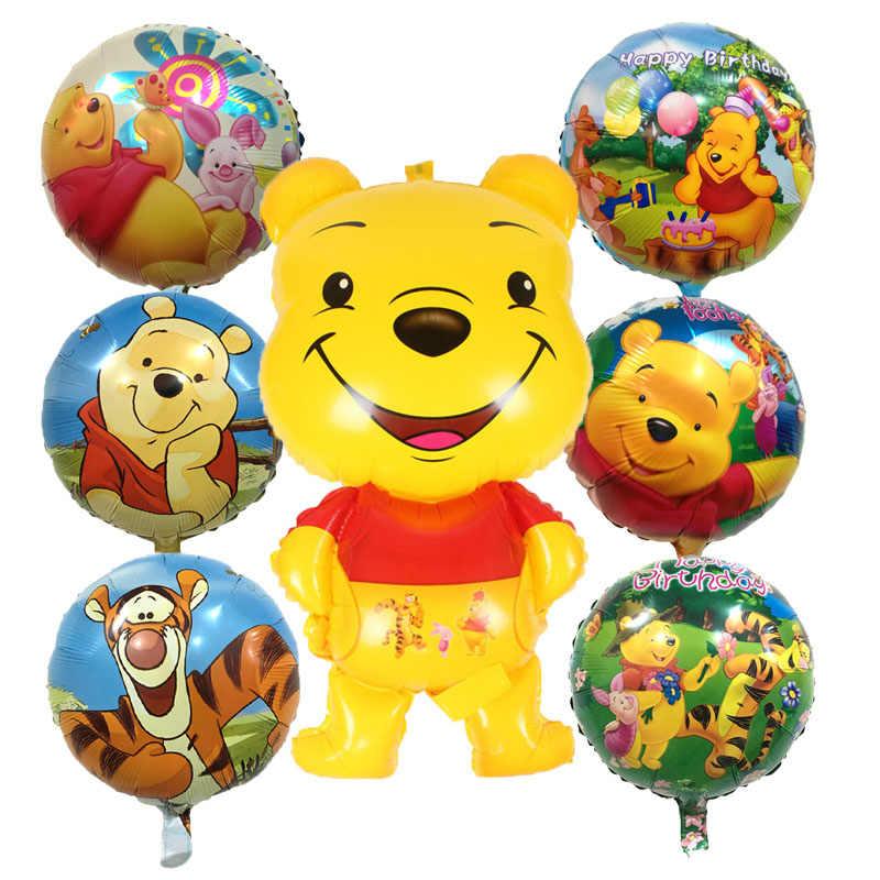 Nowy Cartoon kubuś miś balony ball dziecko klasyczne zabawki boże narodzenie urodziny ślub dekoracje Party nadmuchiwane powietrze balon
