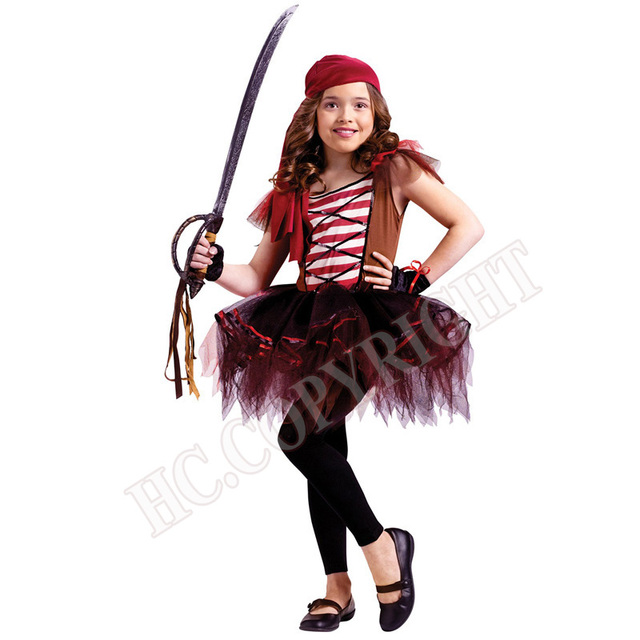 kids costume halloween christmas pirate costumes girls party cosplay costume for children kids