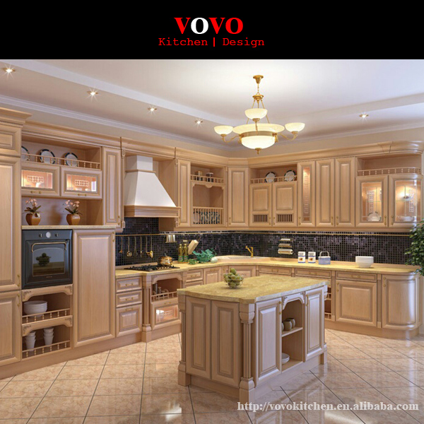 Modular customized kitchen cabinets with round ends-in Kitchen ...