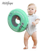 Safety baby swimming ring no neeed inflation Double protection Children's Ruff Swim neck floating ring Baby Pool Accessories