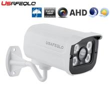 USAFEQLO 720P/1080P SONY IMX323 Full HD 2MP ในร่ม/กลางแจ้งมินิโลหะโดม AHD กล้องวงจรปิด security