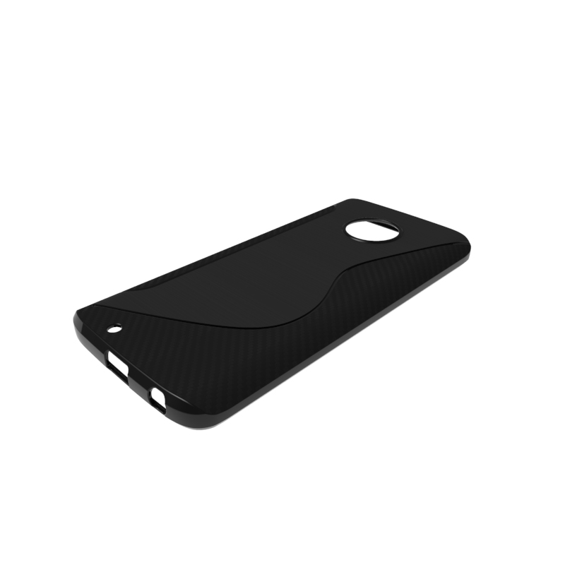 US $1 99 |CASEISHERE For Motorola Moto G6 Soft Case S Line Carbon Fiber  Drawing Silicone TPU Gel Cover For Motorola Moto G6 XT1925-in Fitted Cases