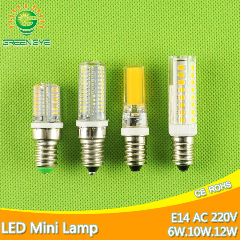 Mini E14 LED Bulb Light 6W 9W 10W 12W 220V Led Lamp E14 Cool Warm White Candle Spotlight Lampada Ampoule Bombilla Lampara