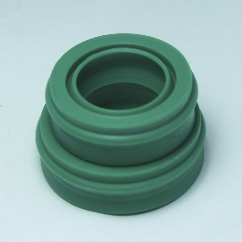 5pcs EU 12 22 10 7 12x22x10 7 Polyurethane Dustproof Green Pneumatic Piston Rotary Shaft Rod Green O Ring Gasket Oil Seal in Gaskets from Home Improvement