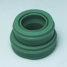 5pcs EU 12*22*10.7 12x22x10.7 Polyurethane Dustproof Green Pneumatic Piston Rotary Shaft Rod Green O Ring Gasket Oil Seal недорого