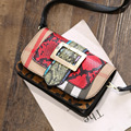 2016 New Hot  Fashion Leisure Wild Snakeskin Pattern Handbag Handbag Shoulder Messenger Bag Small Bag