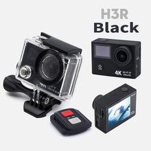 H3R Действий Камеры Ultra HD 4 К 1080 P 2.0 дюймов Двойной ЖК-Экран водонепроницаемый deportiva 170d объектив дистанционного wifi спорт камеры go pro yi 4 К