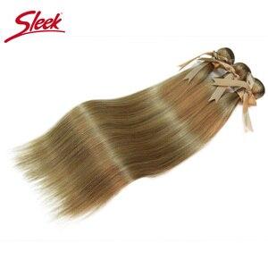 Гладкие перуанские волосы Remy P6/22 P27/613 P8/22 цвета, прямые пряди для наращивания от 8 до 24 дюймов, светлые волосы для наращивания
