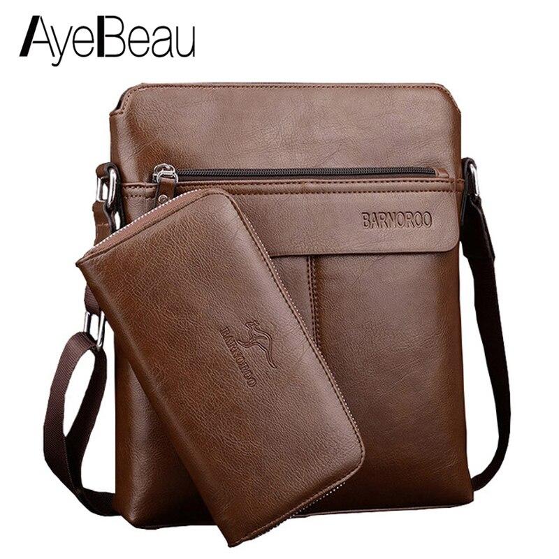 Cross Body Crossbody Shoulder For Male Messenger Bag Men Handbag And Purse Set Document Sholder Sac A Main Bolsas Bolsas Satchel messenger bag