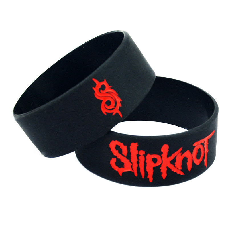 Slipknot Silicone Rubber Wristband bracelet jewelry HOT 1pcs