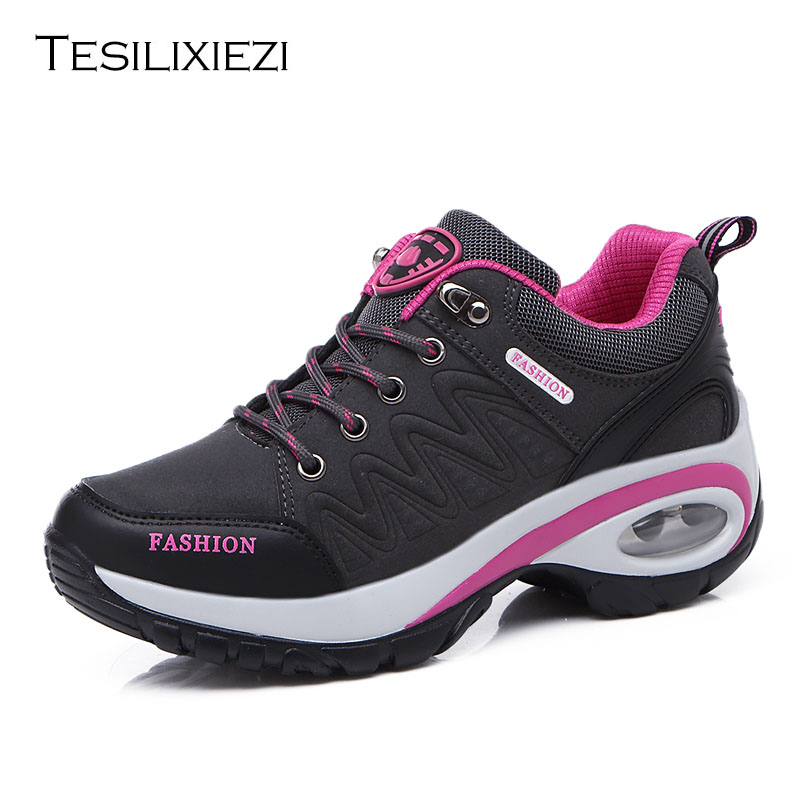 Women Hiking Shoes Man Waterproof Mountain Climbing Trekking Shoes Women's Hiking Shoes