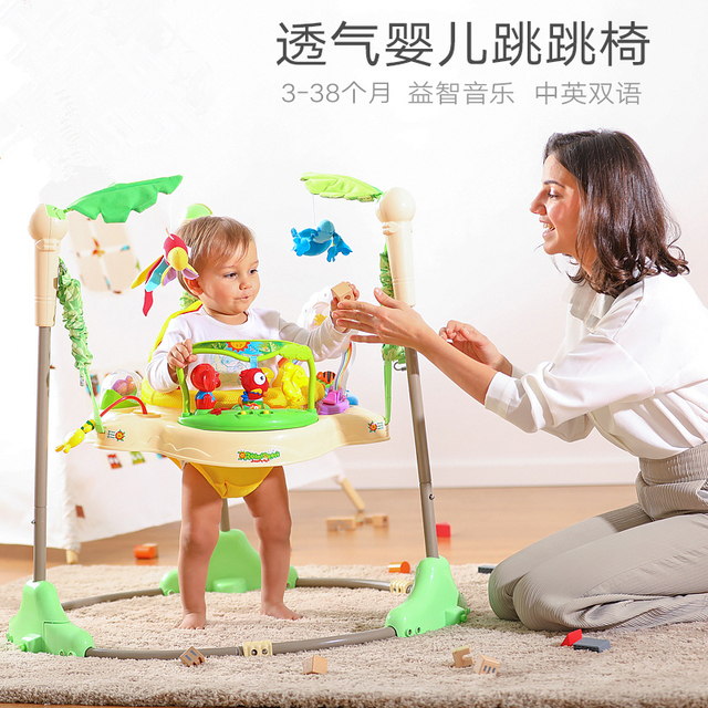 1d2cda8c8 Activity Center Baby Walker Rainforest Jumperoo Baby Learning Walker ...