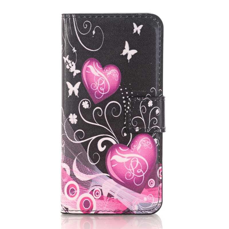 Роскошный кожаный флип бумажник Мягкие TPU чехол для Samsung Galaxy S3 S4 S5 Mini S6 S7 Edge S8 S9 плюс J1 J3 J5 2015 случае