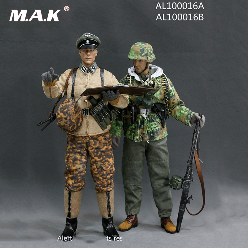 1/6 WWII Germany SS MG42 Machine Gunner Set And Germany SS Officer Set no head no body цена 2017