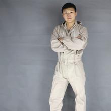 Plus size Men Hooded Overalls Male Work Wear uniforms Worker Repairman Machine Auto Repair jumpsuit pants