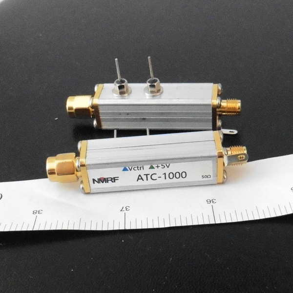 Free shipping ATC-1000 1~2500MHz broadband RF voltage controlled adjustable attenuator and PIN tuned