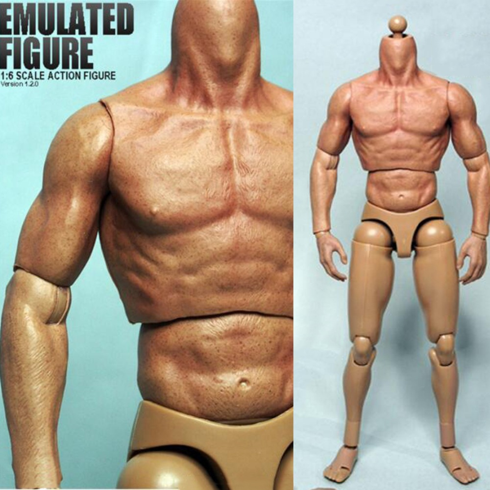 ZC toys 1//6 Muscular male Figure Body W// Seamless Arms fit Wolverine Logan