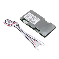 New Arrival 6s 24v Li Ion Lithium Cell 60A 18650 Battery Protection Board With Balance 110x55x9mm