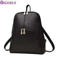 DIGERUI Women Backpack Leather Backpacks Softback Bags Bag Preppy Style Bag Casual Backpacks Teenagers Women S