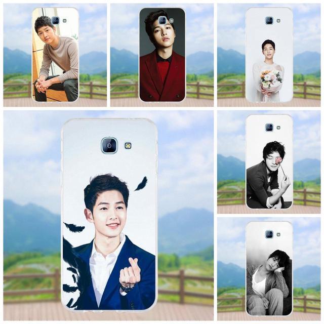 US $1 99 |Song Joong Ki So Cute Korea For Samsung Galaxy A3 A5 A7 J1 J2 J3  J5 J7 2015 2016 2017 Soft Silicone TPU Transparent New Arrival-in