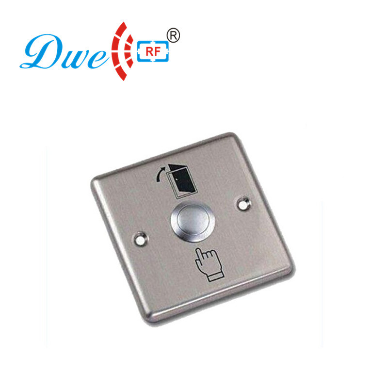 где купить DWE CC RF access control kits 12V stainless steel normally closed touch mechanical exit push button дешево