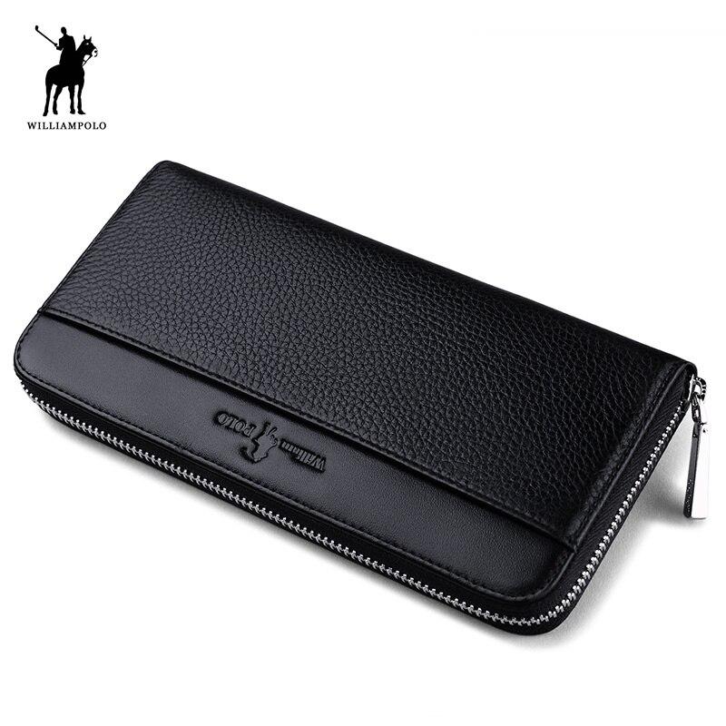 bolsas carteira carteira de longo Material Principal : Couro Genuíno