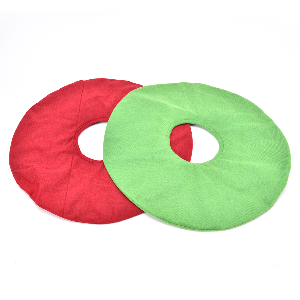 34*12 cm Inflatable Vinyl Ring Seat Donut Cushion And Medical Hemorrhoid Pillow Free