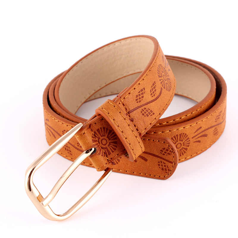New Gold Ronde Metalen Cirkel Riem Vrouwelijke Goud Zilver Zwart Wit Pu Lederen Taille Riemen Voor Vrouwen Jeans Broek Groothandel SE68