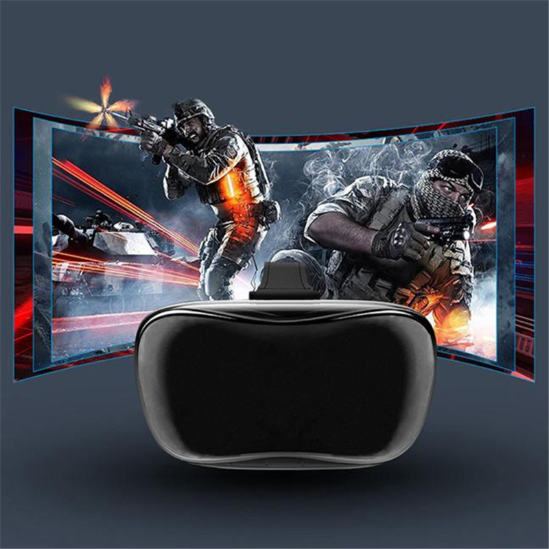 1080P HD Virtual Reality 3D Glasses Octa-Core Android 4.4 2+8GB VR Headset Box 360 degree Head Tracking IMAX for PC Game 2