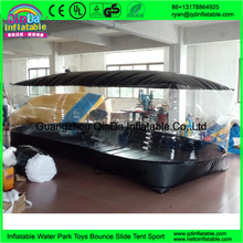 5×2.2x2m transparent folding inflatable car cover tent for indoor toys tents for home shows used