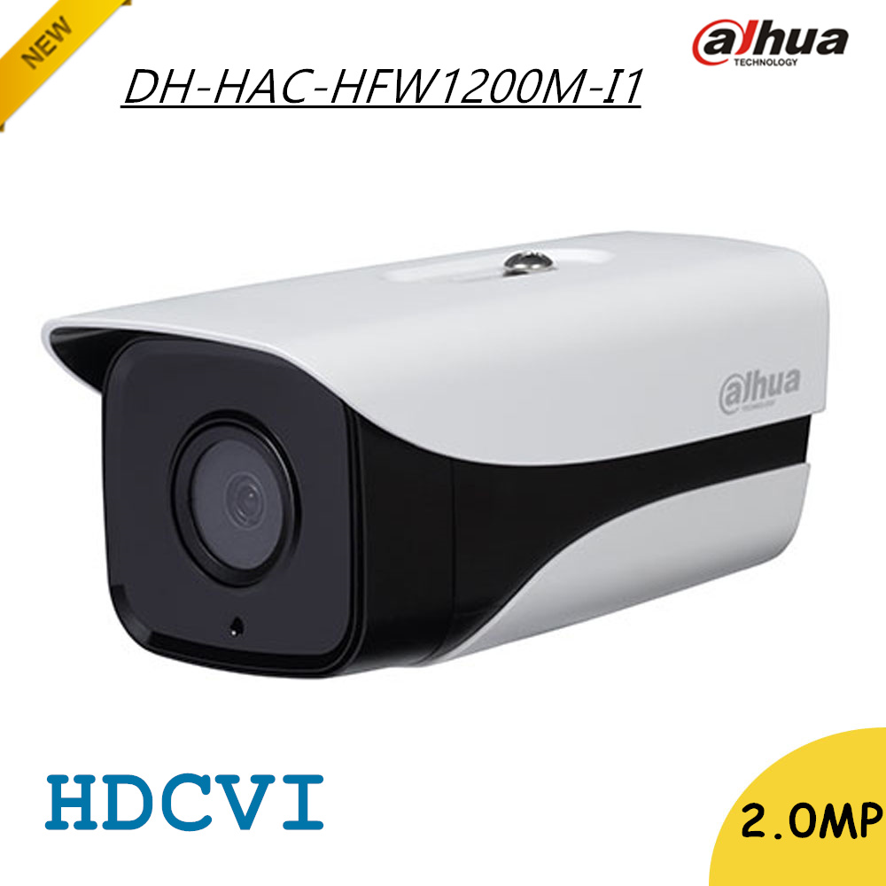 New Arrival Dahua 2Mp HDCVI Camera HD 1080P DH-HAC-HFW1200M-I1 Network IR Bullet Security CCTV Camera IP67 HAC-HFW1200M-I1 dahua hdcvi 1080p bullet camera 1 2 72megapixel cmos 1080p ir 80m ip67 hac hfw1200d security camera dh hac hfw1200d camera